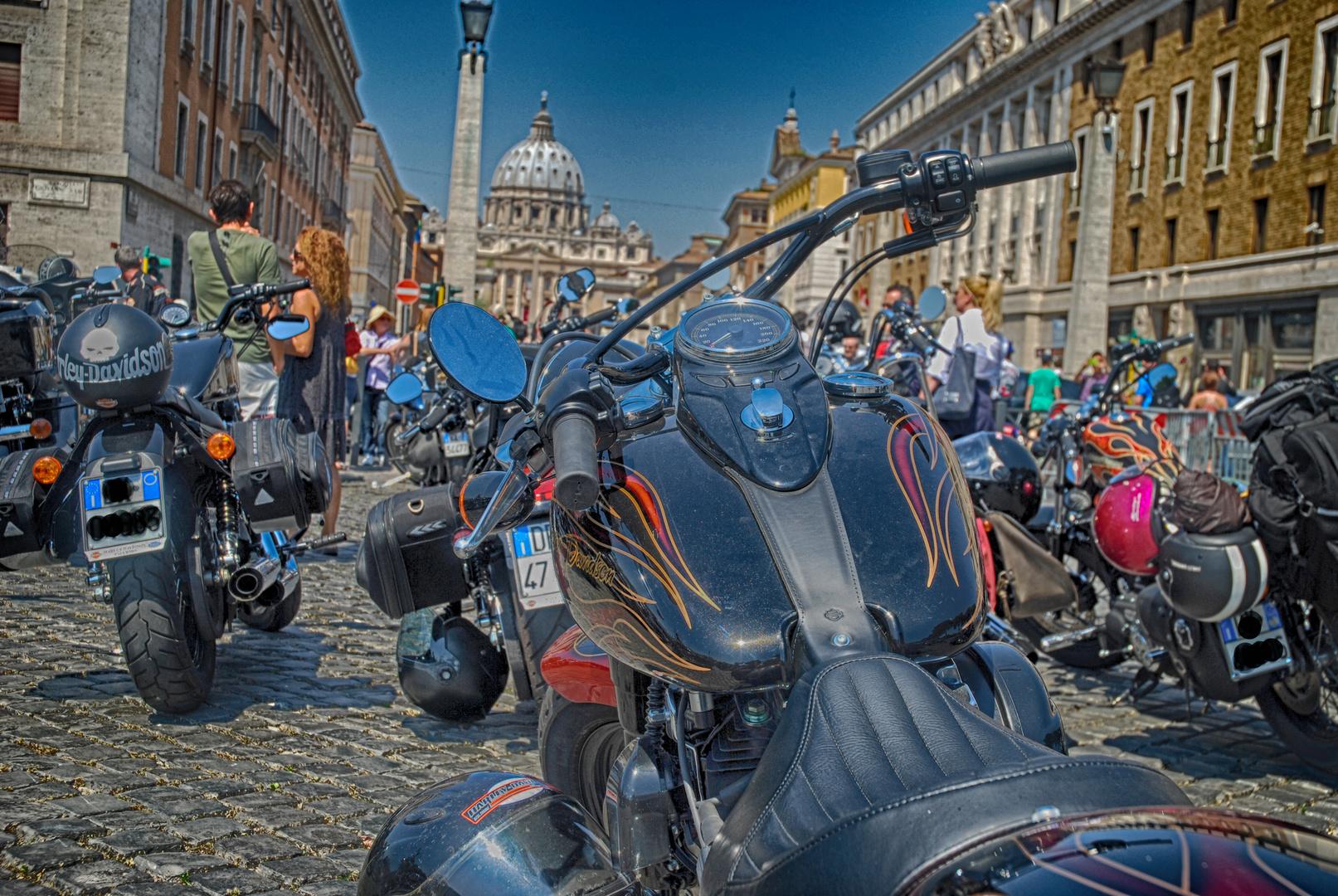 Harley Davidson 110° anniversario a Roma