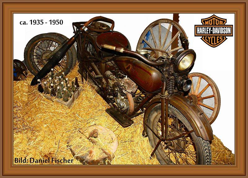 Harley Davidson ca. 1935