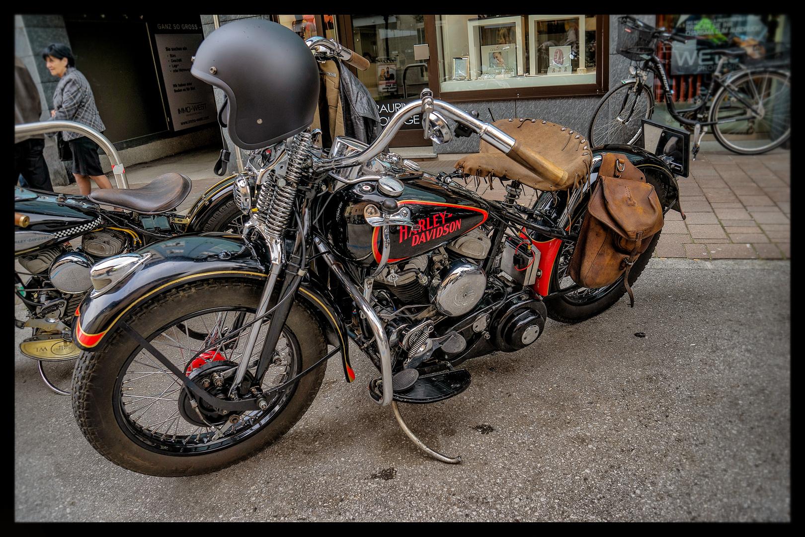 Harley Davidson - Die Rarität