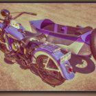 Harley-Davidson  WL mit Sidecar
