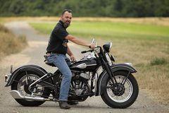 Harley Davidson WL45 Solo BJ:1944