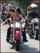 Harley fahren macht Spass