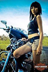 Harley Girl #2