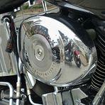 Harley im Spiegel