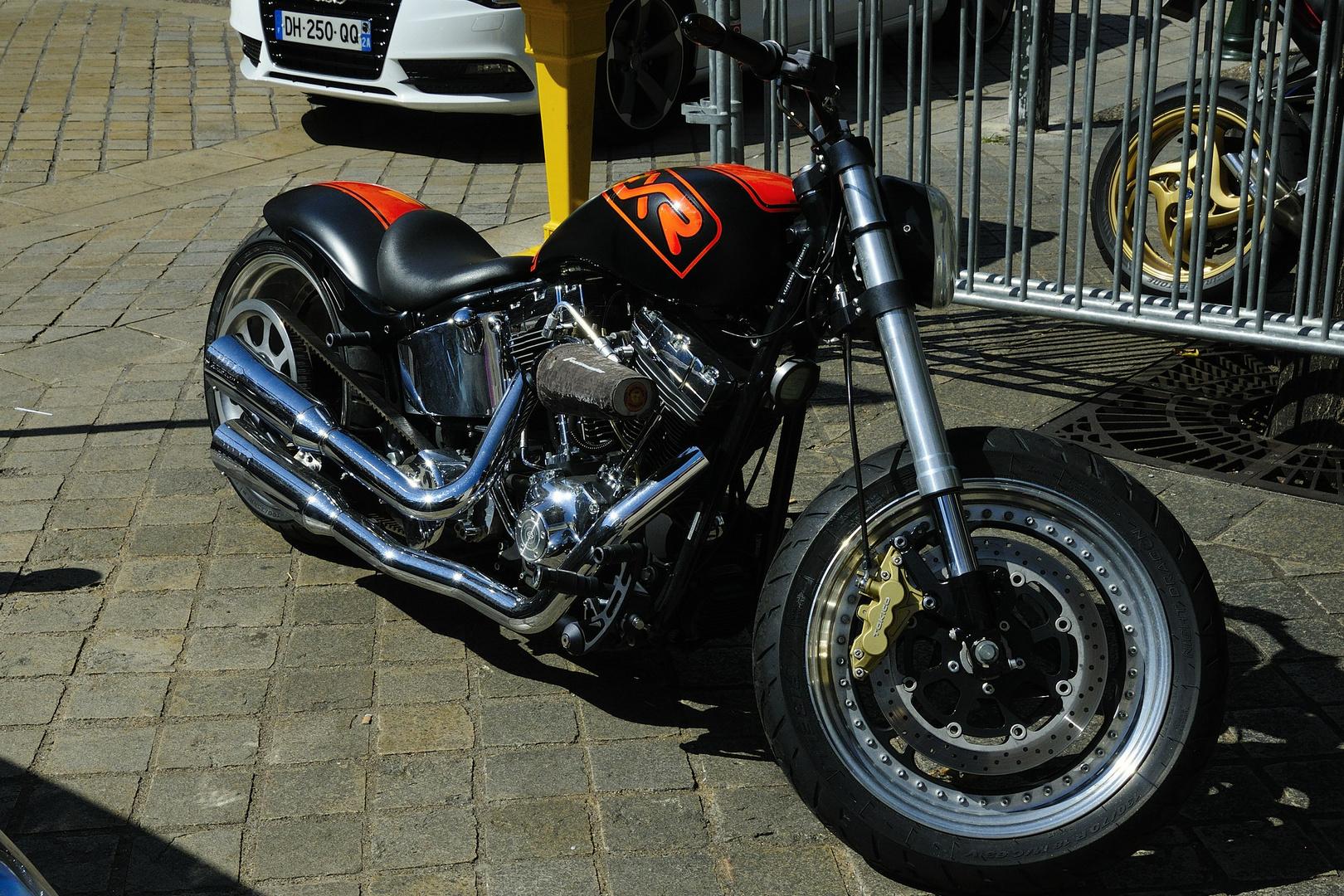 Harley-Motor....