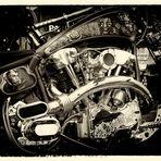 """Harley Motor by """"Die Bike Schmiede Süd"""""""