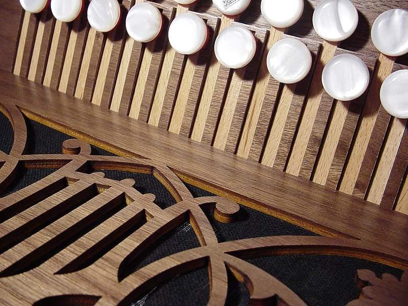 Harmonika in Bunt