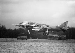 Harrier  Field Exercise 1970
