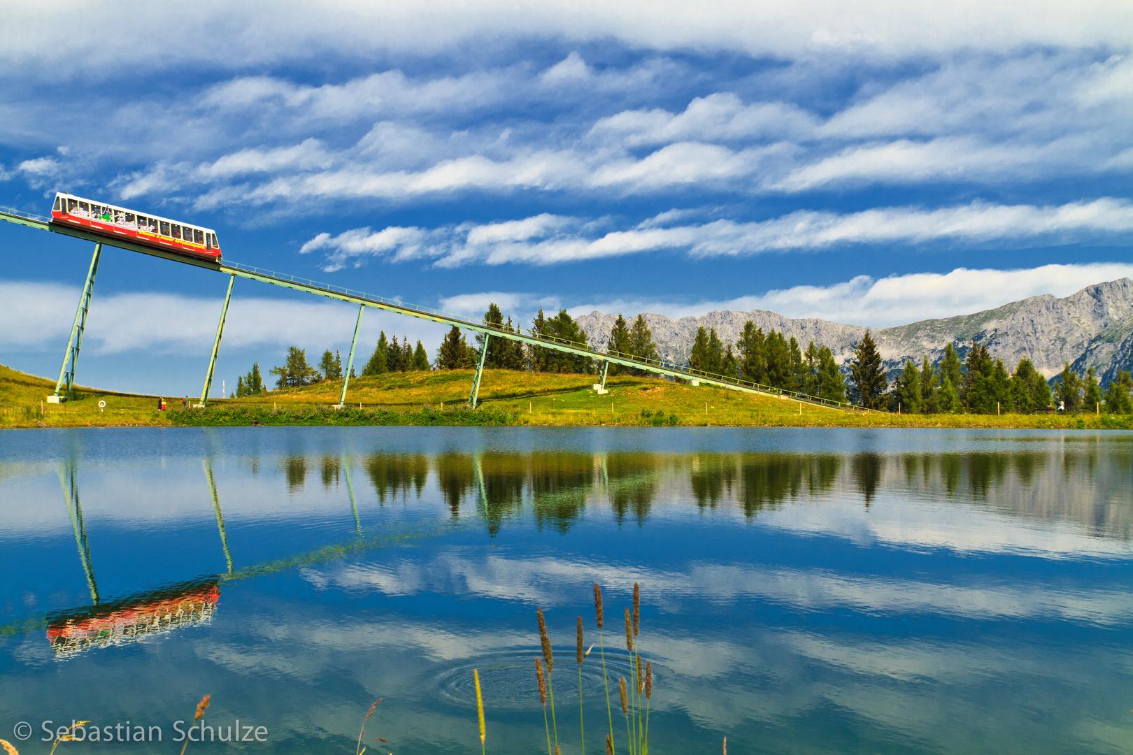 Hartkaiserbahn im Kaisergebirge