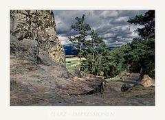 """Harz-Impressionen """" an der Teufelsmauer...."""""""