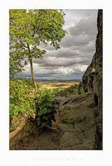 """Harz-Impressionen """" Blick von der Teufelsmauer...."""""""