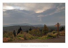 """Harz - Impressionen """" Blick, zum Brocken am Frühenmorgen...."""""""