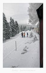 """Harz- Impressionen """" der Blick, zum Brocken, aus meiner Sicht ......"""
