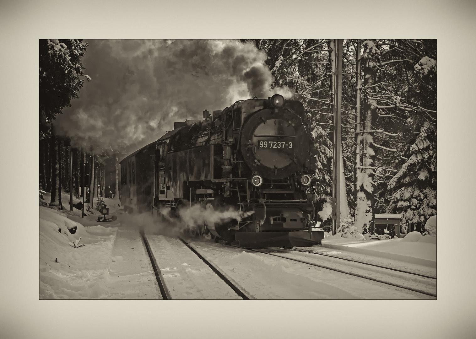 """Harz- Impressionen """" die Harzerschmalspurbahn*...."""""""