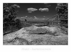 """Harz-Impressionen """" Thale - Hexentanzplatz......"""