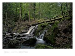 "Harz - Impressionen "" untere ILsefälle..."""