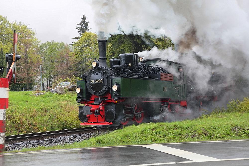Harzer Schmalspurbahn: 99 5902 (BJ 1897)