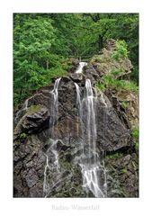 """HarzImpressionen """" der Radau-Wasserfall...."""""""