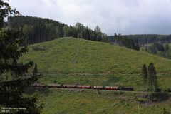 Harzquerbahn . Am Thumkuhlenkopf