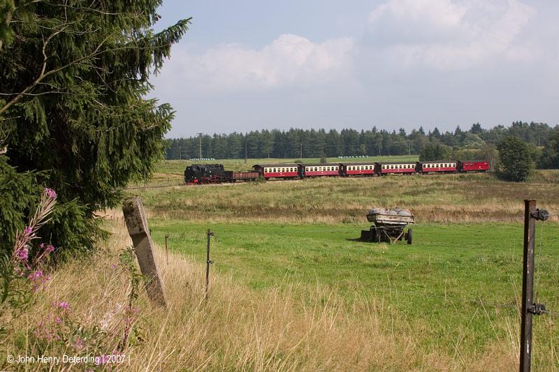 Harzquerbahn - Die Hochebene
