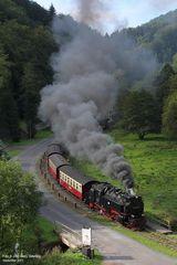 Harzquerbahn . Kurz vor 11