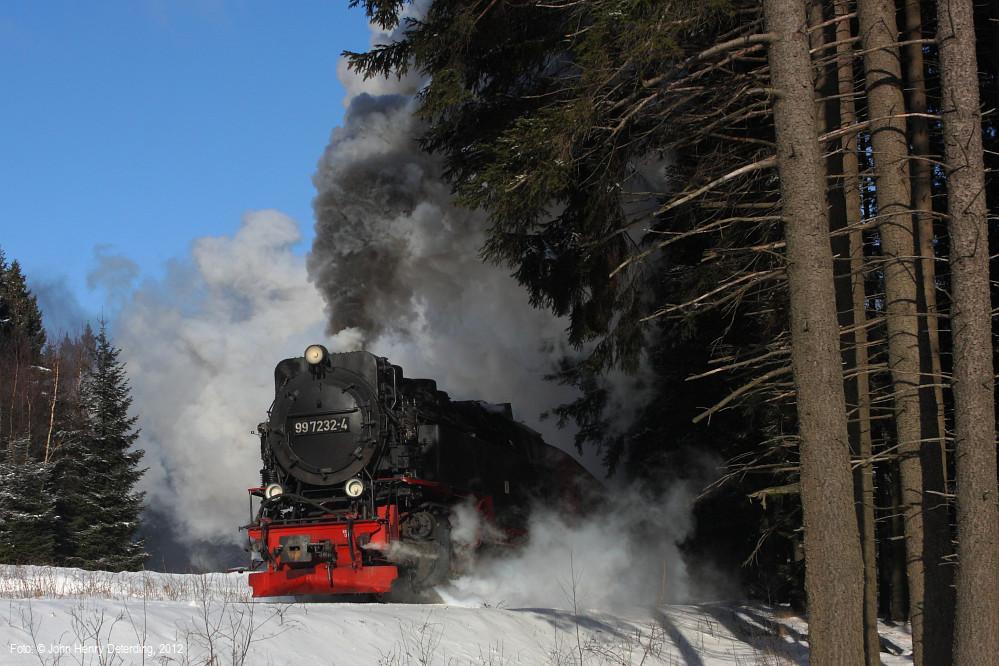 Harzquerbahn . Regler auf nach Schierke