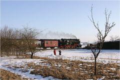 Harzquerbahn - Winter ade