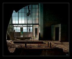 Hasard Cheratte: Maschinenhalle