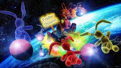 Hasen im Weltraum