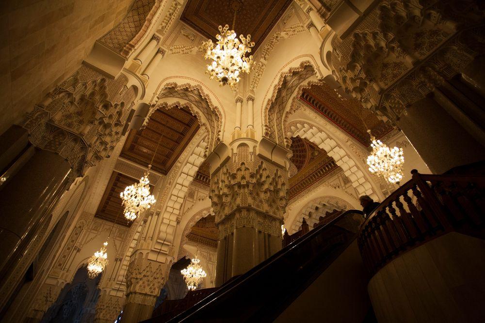 Hassan II Moschee Innenraum