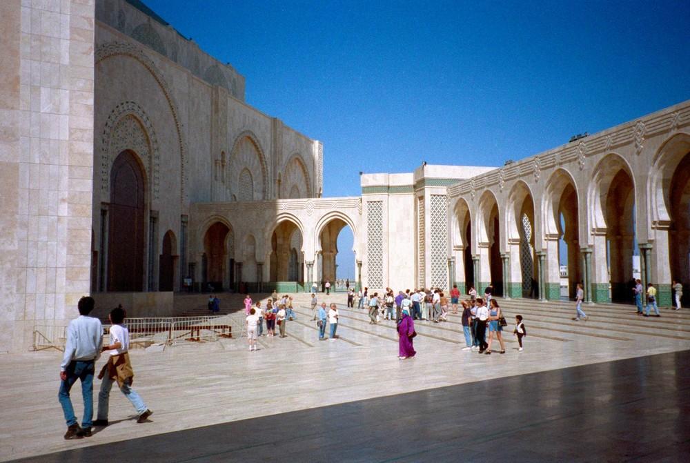 Hassan Moschee in Casablanca