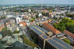 Hasselt - ein letzter Blick auf die Stadt