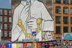 Hast DU ZEIT Grafitti in Berlin SO36
