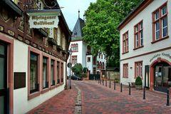 Hattenheim - Hauptstraße - Hotel Kronen-Schlösschen - Nordseite