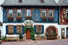 Hattenheim - Hauptstraße - Hotel Zum Krug - Südseite
