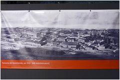 Hattingen - Henrichshütte - Panorama um 1910