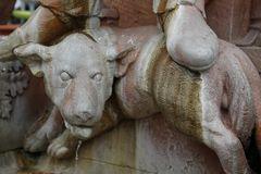 Hattsteinbrunnen in Limburgs Altstadt - Detail