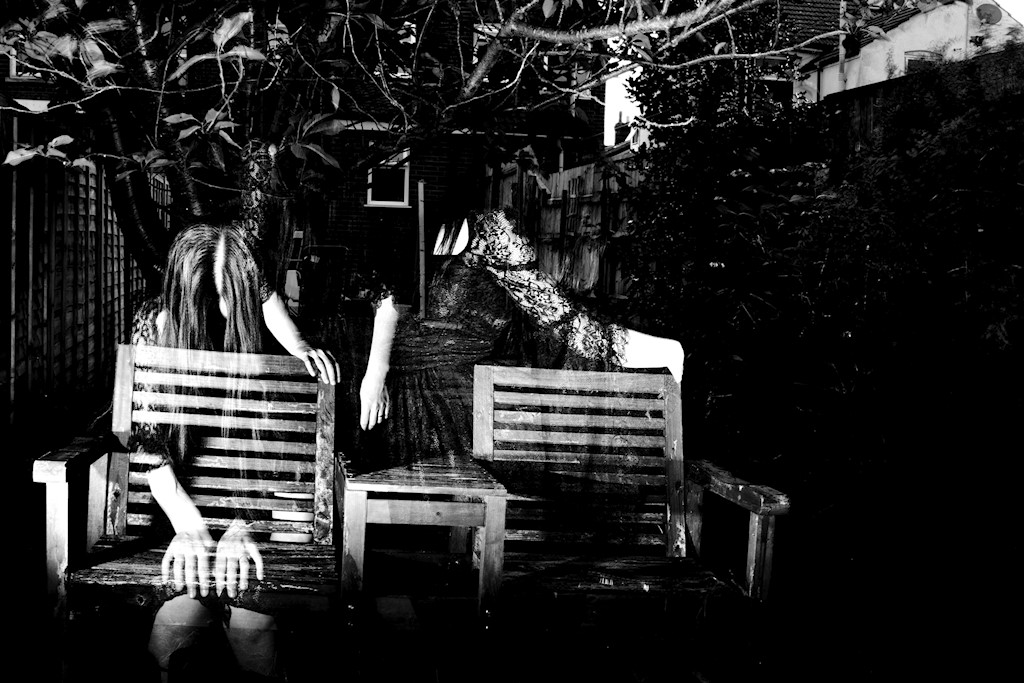 haunted bench