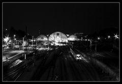 Hauptbahnhof DD Monochrom