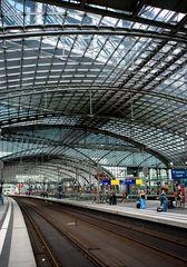 Hauptbahnhof ohne Züge ... ??