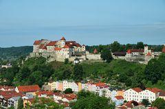 Hauptburg mit Altstadt Burghausen