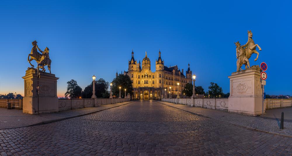 Haupteingang Schweriner Schloss
