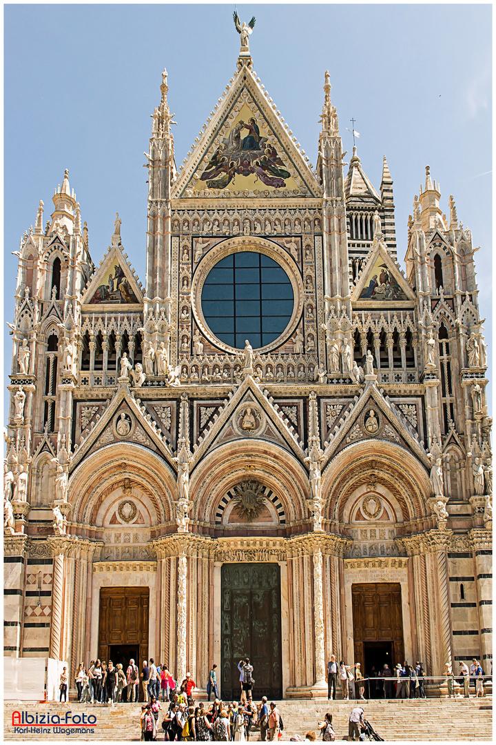 Hauptfassade des Doms von Siena Foto & Bild | architektur, europe ...