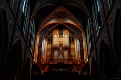 Hauptorgel in der Marien Basilika (2)