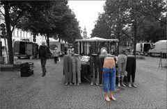 Hauptsache, die Hose sitzt ...!