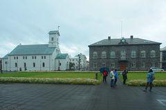 Hauptstadt Reykjavík: Dom und Parlament