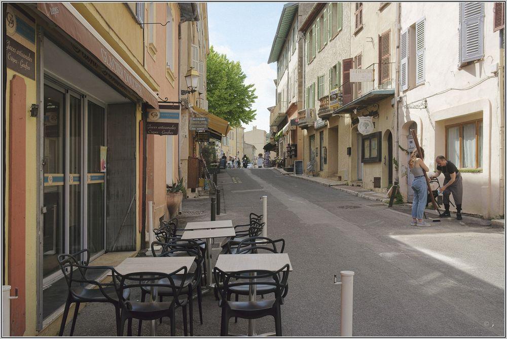 Hauptstrasse in Biot II