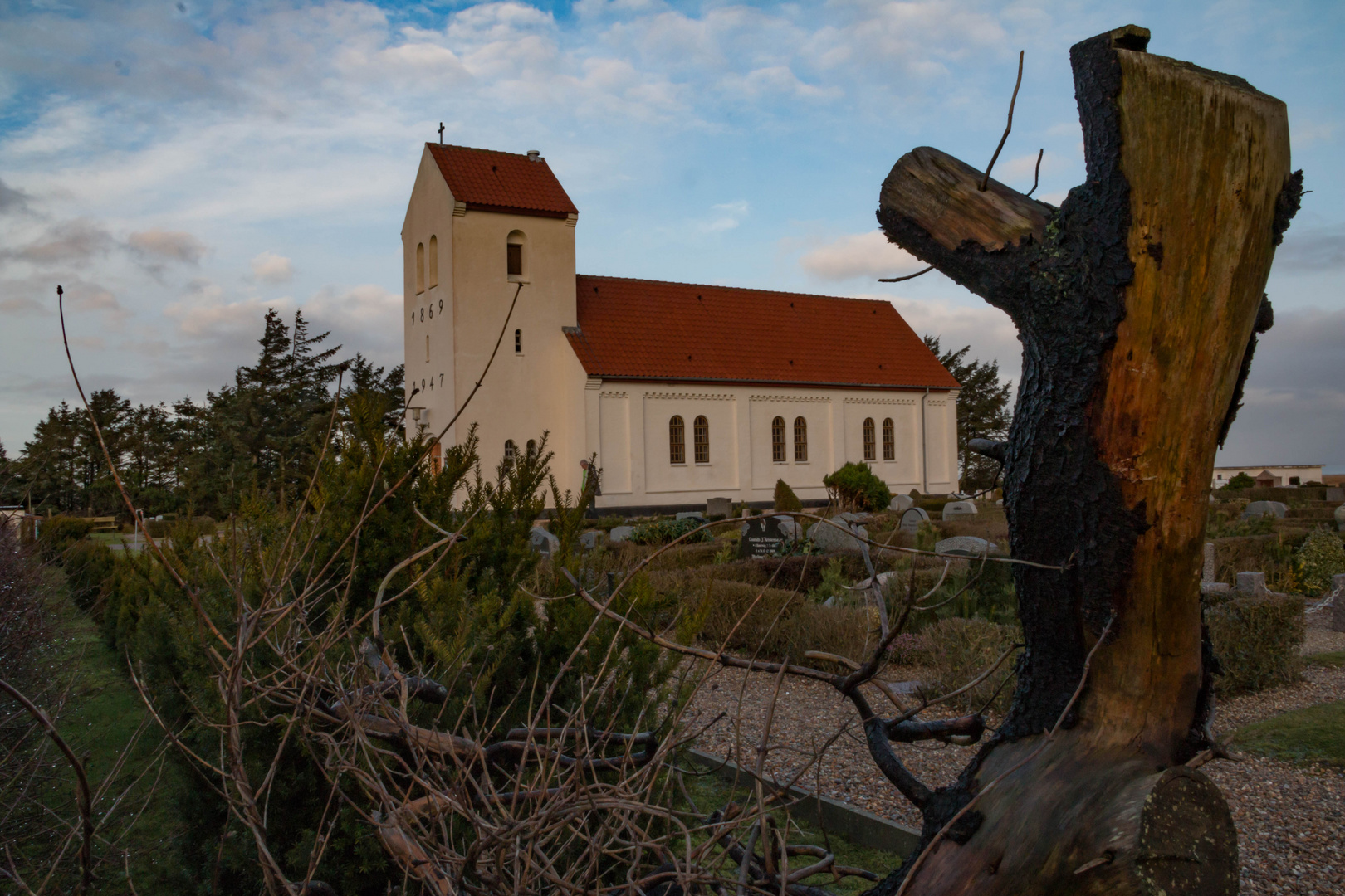 Haurvig Kirke bei Hvide Sande