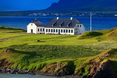 Haus am Hafen (Viðeyjarkirkja und Viðeyjarstofa)