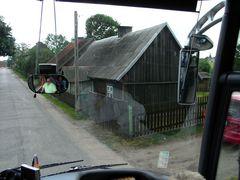 Haus am Strassenrand